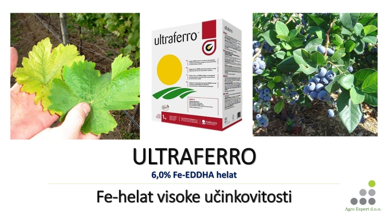 Fe-helat visoke učinkovitosti ULTRAFERRO